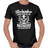 Mechaniker wurden erschaffen Schrauber Handwerker KFZ Auto Motorrad Fun T-Shirt