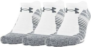 Under Armour Unisex 248431 Performance No Show 3-Pairs Socks Size M 8-12 W 9-12