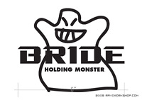BRIDE Sticker DieCut Decal