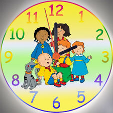 Wanduhr - Uhr für das Kinderzimmer - Motiv - Caillou 2 - Kinderuhr