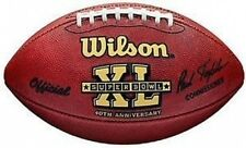 Super Bowl 40 XL Wilson Official NFL Game Football Seahawks vs. Steelers