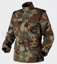 HELIKON TEX US M65 Jacke Army Military Field Jacket woodland camouflage LR
