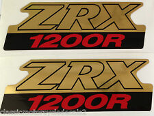 KAWASAKI ZRX ZRX1200 ZRX1200R SIDE PANEL DECALS
