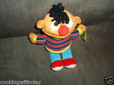 New With Tags Sesame Street Plush Doll Figure Ernie Fisher Price