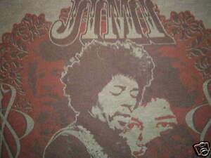 JIMI HENDRIX SHIRT classic rock guitar god
