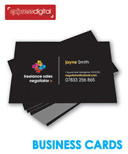 >>PREMIUM 100 x Business cards Colour DOUBLE sided printing service - FREE P+P<<