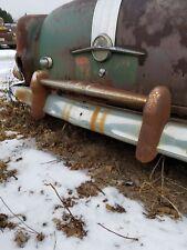 1953 54 PONTIAC CHIEFTAIN REAR BUMPER GUARD W/CROSSBAR