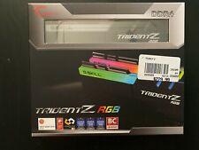 G.Skill Trident Z RGB 32GB (2x16GB) DDR4-3200 Memory Kit F4-3200C16D-32GTZR RAM