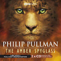 Philip Pullman The Amber Spyglass Dark Materials BBC 4 Drama Audio Book CD