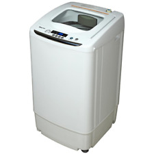 Magic Chef 0.9 Cu. Ft. Portable Compact 5 Program Electric Washer in White, New