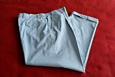 Lauren Ralph Lauren seersucker pants 38 32 blue