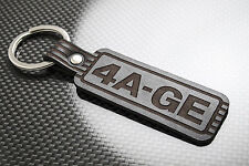 TOYOTA 4AGE Leather Keyring Keychain Schlüsselring Porte-clés AE86 Corolla GTi