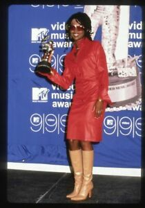 1990s LAURYN HILL @ MTV Video Awards Original 35mm Slide Transparency FUGEES