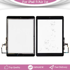 Black For iPad 5 Air 1st A1474 A1475 A1476 Touch Screen Glass Digitizer + Button