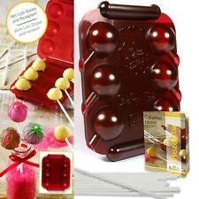 Cake pop Maker, para tarta deliciosa lollipops, con cuaderno, tallos y forma