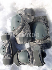 Made in USA New ACU Digital Knee Elbow Pad Set Paintball Airsoft USGI HD Large L
