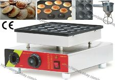 Commercial Nonstick Electric Mini Dutch Pancake Maker Poffertjes Grill Machine