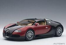 70909 AUTOart 1:18 Bugatti Veyron #001 Red/Black Beige/Interior