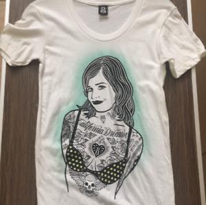 Rebel 8 XL White Women's T-shirt