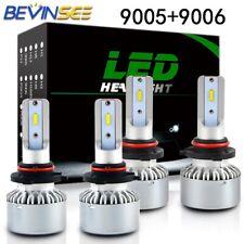 Fits BMW 318i 318is 93-99 318ti 95-99 Combo 9005 + 9006 LED Headlight Hi/Lo Bulb