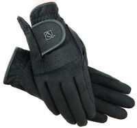 SSG Ladies Digital Equestrian Horse Riding Gloves, sz 7, Black NWT