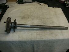 Corvair 60-62 CAR rear axles will fit 63-64. Bearing good & completely rebuilt