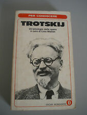 TROTSKIJ a cura di Livio Maitan Oscar Mondadori 1972 prima edizione