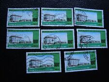 COTE D IVOIRE - timbre yvert/tellier n° 600 x8 obl (A27) stamp