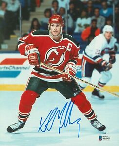 Devils Kirk Muller Authentic Signed 8x10 Photo Autographed BAS #AA48033