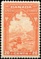Stamp Canada Mint 1927 F+ Scott #E3 20c Special Delivery Never Hinged