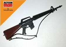 Vintage 1970's / 80's Palitoy Action Man ~ M-16 ASSAULT RIFLE with Strap