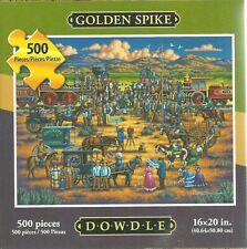 GOLDEN SPIKE BY ERIC DOWDLE - Complete - PUZZLE