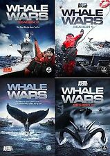 WHALE WARS Season 1-4 DVD Set Serie Reality TV Show Animal Planet Collection Lot