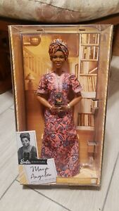 Barbie Signature Inspiring Women Maya Angelou Collector Doll IN HAND SHIPS TODAY