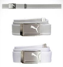 PUMA Golf Mens Reversible Web Belt Free Size Simple Design 053199 Authentic Gift