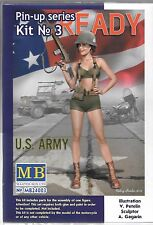 Master Box Pin Up Girl, Gal No. 3,  1/24, US Army Alice  003 ST