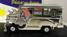 EWA 1/32 Scale (12cms) Philippine Jeepney Chrome edition Diecast model car + box