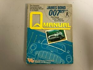 James Bond 007 Q Manual - Role Playing In Her Majesty's Secret Service Book