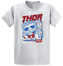Funko Pop! Pop! Tees Thor T-Shirt - Marvel Collector Corps Exclusive Large