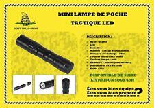 Mini Lampe de poche tactical étanche LED