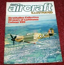 Aircraft Illustrated 1976 March Strathallan,CV990 Coronado,Lufthansa,DC-3