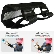 Training Straight Practice Golf Swing Aids Golf Elbow Brace Arc Support Band Pro