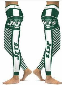 New York Jets Small to 2X-Large Women's Leggings New 2020
