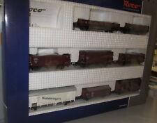 Roco H0 44003 _ 8 x DRG Güterwagen Set , Ep: II _ NEU