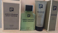 Paco Rabanne pre shave 100 ml + lather shaving cream 100 ml