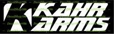 Kahr Arms - Hunting/Outdoor Sports - Vinyl Die-Cut Peel N' Stick Decals/Stickers