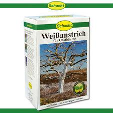 Schacht 1kg Blanc Arboricole Pour Arbres Fruitiers Soins Ecorce Protection Gel