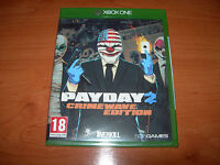 PAYDAY 2 CRIMEWARE EDITION XBOX ONE (EDICIÓN ESPAÑOLA PRECINTADO)