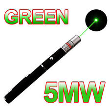 Military High Power 5mW 532nm Green Laser Pointer Pen Visible Beam Light Lazer