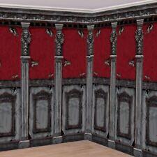 2pk mansión gótica Habitación Rollos de 6m X 1.2m (por Rollo) decoraciones de Halloween